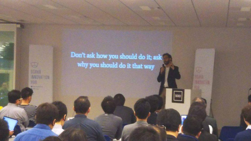 500OsakaMaxFram-Schwartz氏の講義